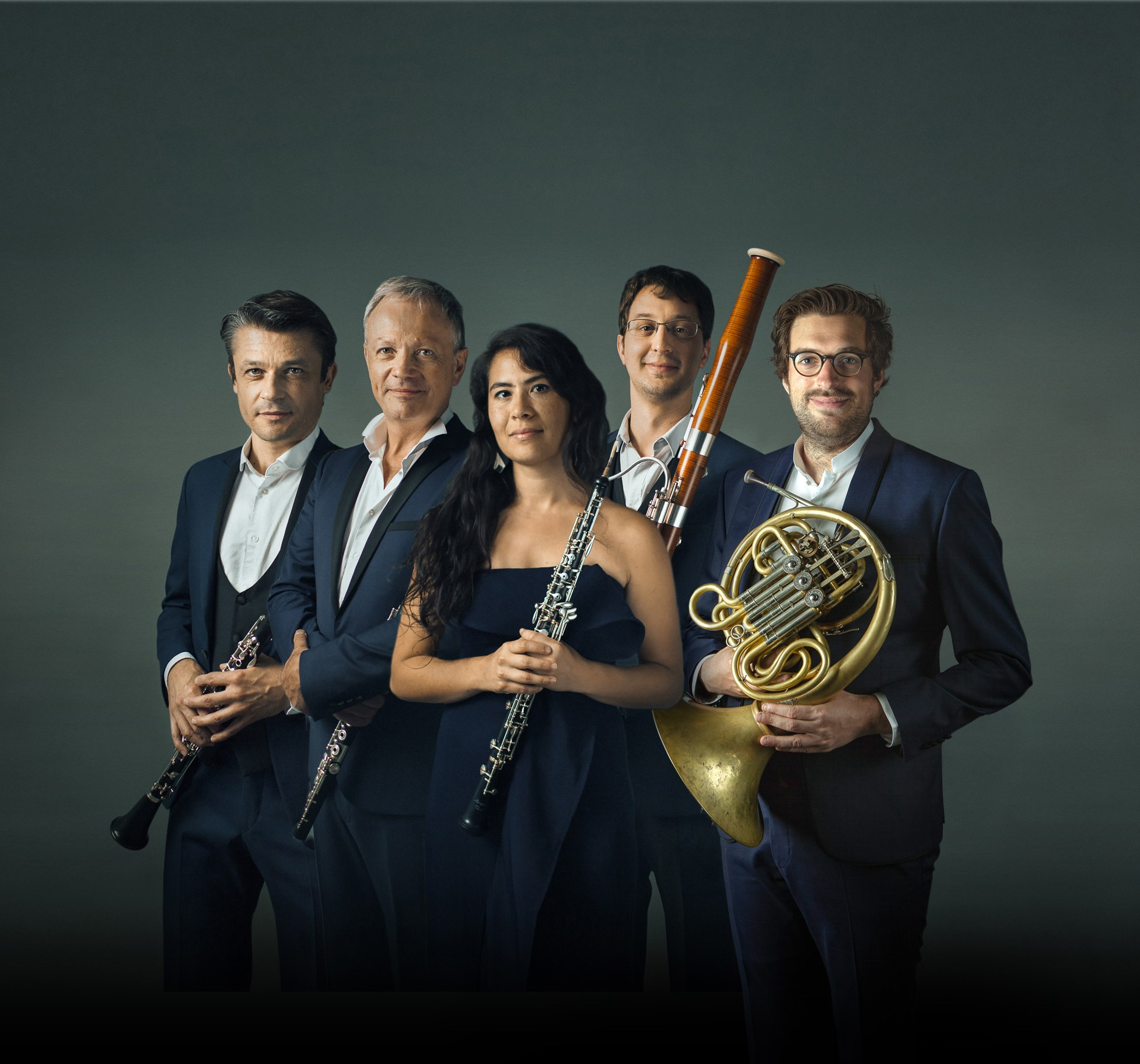 Agenda calendrier consultez les prochaines dates Musiciens photo de groupe musique de chambre, Le Concert impromptu quintette à vent