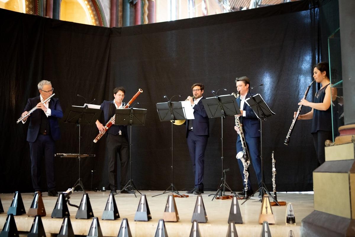 Concert D'un métronome à 100, Musée des Arts et Métiers Paris, avril 2019